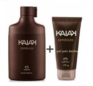 Perfume Kaiak Expedição colônia + Gel pós Barba