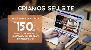 Promoção crie seu site