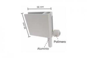 1800AS - Trinco de pressão para janela de correr